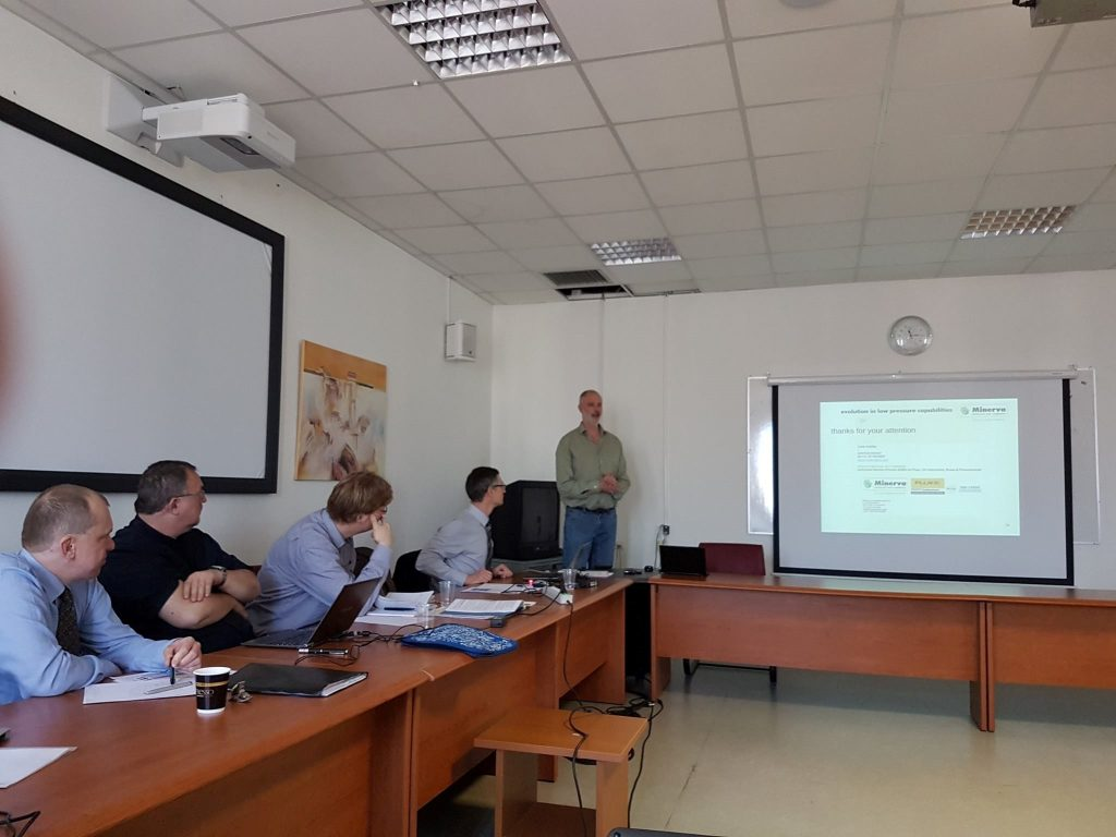 Carel Adolfse teaching at EMPIR meeting