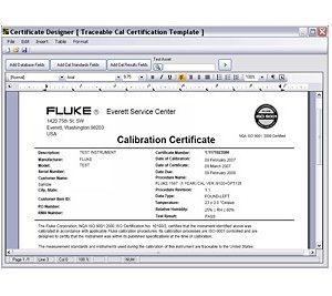 RF calibration software