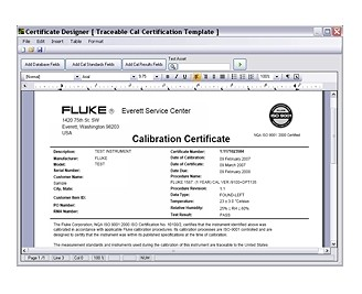 Fluke 5080 Calibration Software