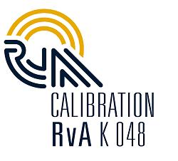 ISO/IEC 17025 accreditation by RvA