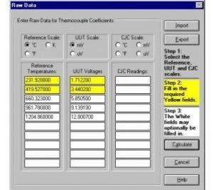 Temperature software