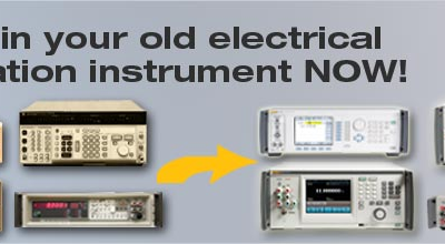 Fluke electrical calibration instruments trade-in action