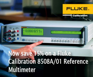 Fluke 8508A Reference Multimeter Promotion