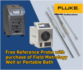 Free Reference Probe with purchase of Field Metrology Well or Portable Bath
