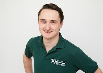 New sales engineer Michiel Ribbens: I strongly believe in personal contact with customers!