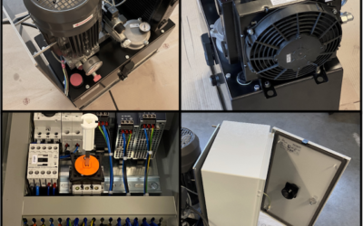 Productionof Minerva MNR-800-HPC400 hydraulic pressure controllers for the first customers